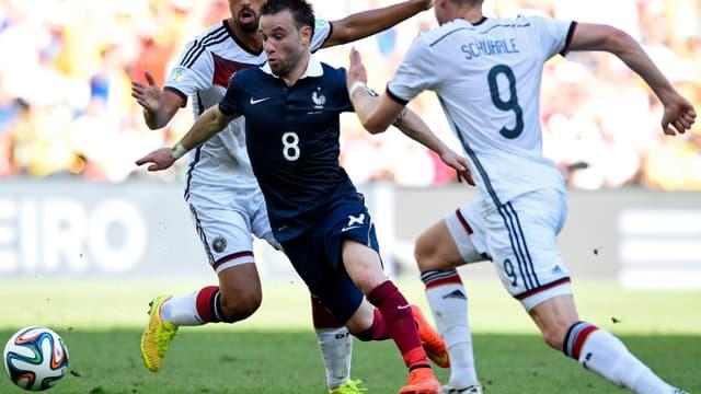 Mathieu Valbuena est l'un des Bleus sur le départ