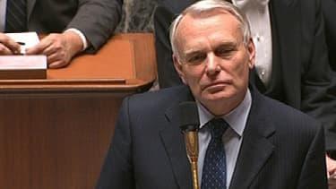 Jean-Marc Ayrault a été pris à partie par Christian Jacob pendant les questions au gouvernement, à l'Assemblée, mardi.