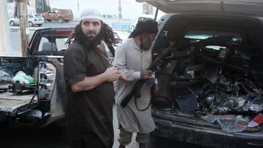 Réalisant des attaques tous azimuts, le groupuscule de l'Etat islamique poursuit sa lente progression vers l'Europe. (Photo d'illustration)