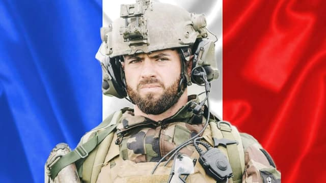 Le caporal-chef Maxime Blasco, du 7e bataillon de chasseurs alpins de Varces (Isère), tué le 24 septembre 2021 au Mali