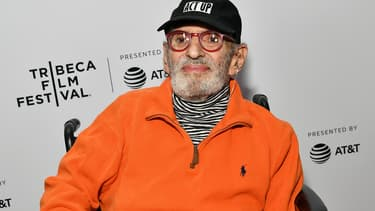 Larry Kramer en mai 2019 à New York