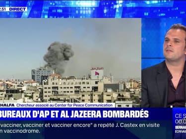Les bureaux d'AP et Al Jazeera bombardés - 15/05