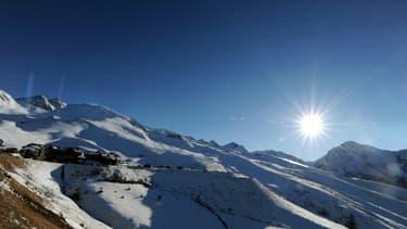 La station de Peyragudes, dans les Hautes-Pyrénées, le 3 janvier 2013