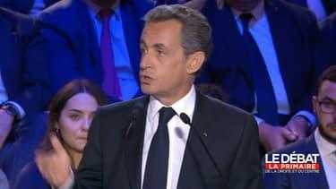 Nicolas Sarkozy s'en est pris à ses adversaires sur les Accords du Touquet.