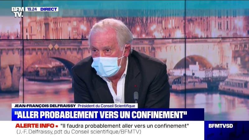 """Jean-François Delfraissy préconise d'""""adapter les vacances scolaires"""" plutôt que de fermer les écoles"""