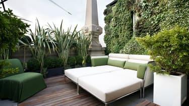 Avec ses 1.000 m² et ses 2 terrasses, la suite Katara de l'Excelsior Gallia de Milan est la plus luxueuse du monde.