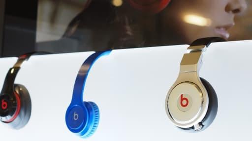 Plus que les casques, c'est surtout le service de musique en ligne qui a attisé la convoitise d'Apple.