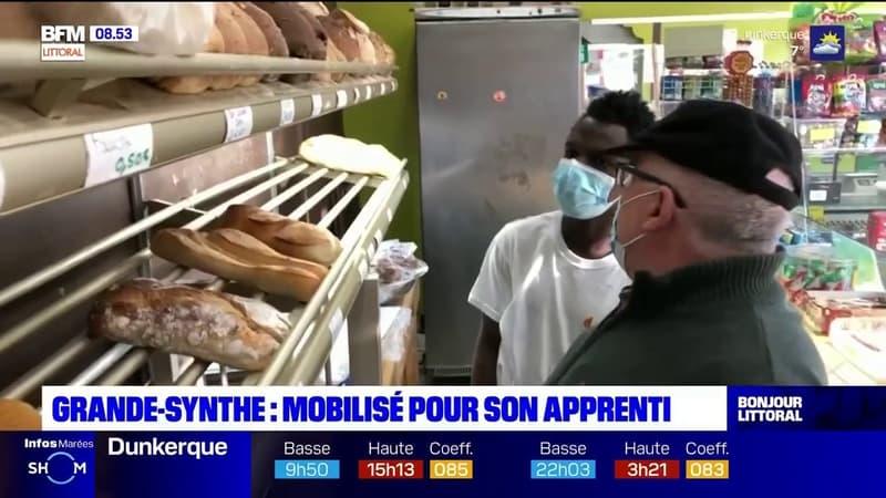 Grande-Synthe: un boulanger se mobilise pour sauver son apprenti menacé d'expulsion
