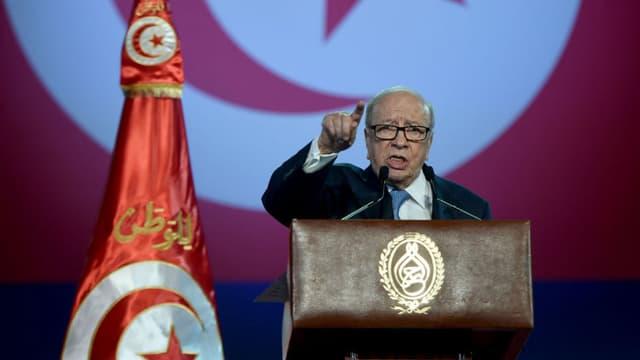 Béji Caid Essebsi, le président tunisien.