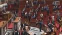Le plan d'économies a été adopté à l'Assemblée nationale par 265 voix pour, 232 contre et 67 abstentions.