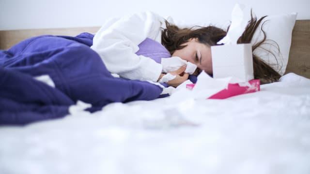 Chaque hiver, la grippe saisonnière touche en moyenne 2,5 millions de personnes en France