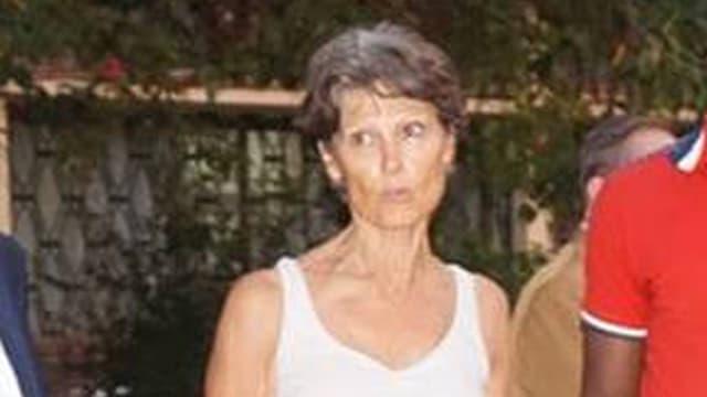 L'humanitaire française Claudia Priest.