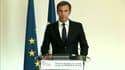 Olivier Véran lors de sa conférence de presse avant la rentrée