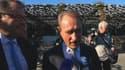 Patrick Mennucci et Bertrand Delanoë sur le Vieux-Port de Marseille, où le maire de Paris est venu soutenir son ami candidat du PS.