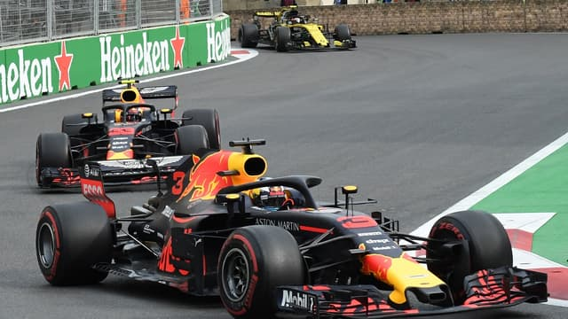 Daniel Ricciardo - Max Verstappen