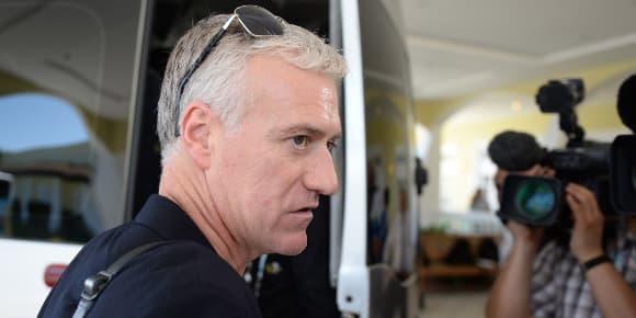 Le sélectionneur de l'equipe de France Didier Deschamps, en mai 2013..