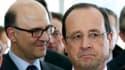 Contrairement à François Hollande, Pierre Moscovici a affirmé que les impôts allaient bien augmenter en 2014.