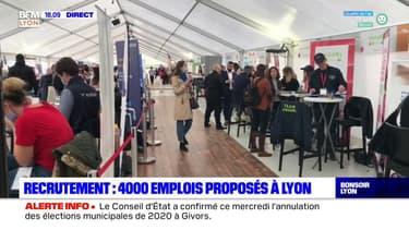 Recrutement : 4000 emplois proposés à Lyon