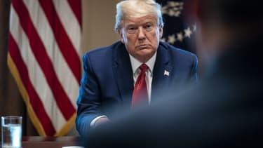 Donald Trump à la Maison blanche, le 29 mars 2020