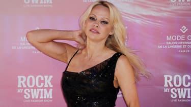 Pamela Anderson le 8 juillet 2017
