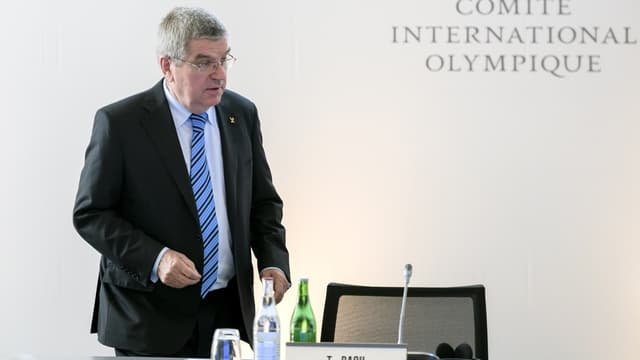 Thomas Bach, le président du CIO