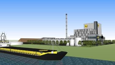 La centrale biomasse de BEE exploitée par Véolia sera implantée sur le port international de Gand (Belgique).