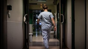 Une infirmière dans un hôpital en novembre 2020.