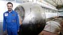 Six hommes, dont un Français (Romain Charles, ici en photo) se préparent à passer 520 jours enfermés ensemble dans un vaisseau, dans le cadre d'une simulation de voyage vers Mars afin d'étudier les effets de l'isolement sur l'homme. /Photo prise le 18 mai