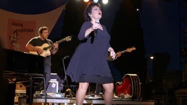 Maurane en concert en 2010