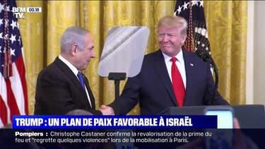 Conflit israélo-palestinien: Donald Trump présente son plan pour la paix