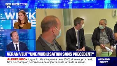 """Véran veut """"une mobilisation sans précédent"""" - 07/05"""