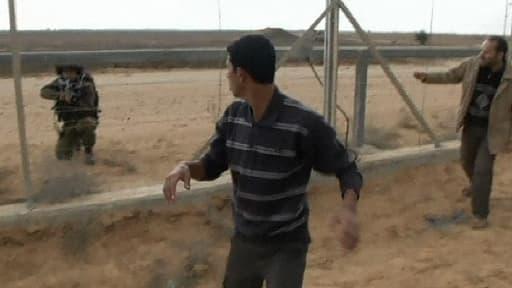 A la frontière entre Gaza et Israël, vendredi 23 novembre