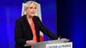 Marine Le Pen, dimanche 7 mai.
