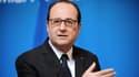François Hollande le 14 avril 2015 à Cahors