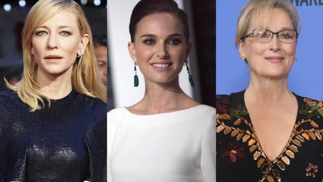 """Cate Blanchett, Natalie Portman et Meryl Streep participent au projet """"Time's Up"""""""