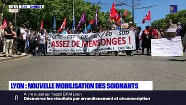 Lyon : nouvelle mobilisation des soignants