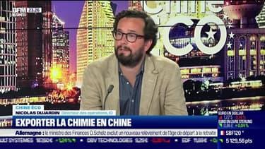 Chine Éco : Exporter la chimie en Chine par Erwan Morice - 08/06