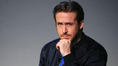 "Ryan Gosling présente son film ""Lost River"" à New York en avril 2015."