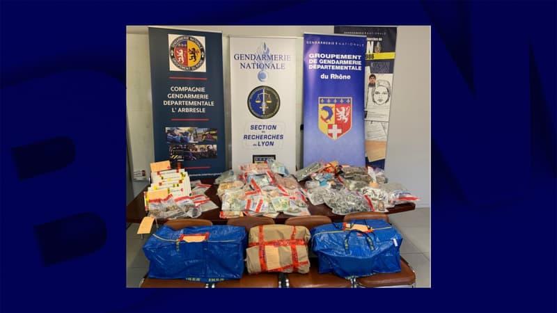 Vaulx-en-Velin: démantèlement d'un large réseau de trafic de stupéfiants, géré par