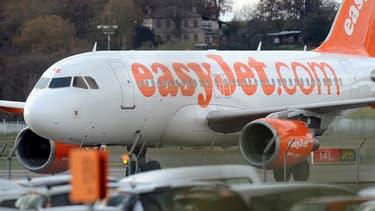 La fillette s'est retrouvée à bord d'un avion de la compagnie EasyJet (Photo d'illustration)