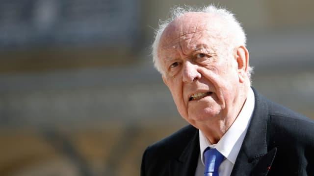 Le sénateur-maire (Les Républicains) de Marseille Jean-Claude Gaudin