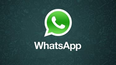 Le logo de l'application WhatsApp .