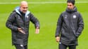 Pep Guardiola et Mikel Arteta