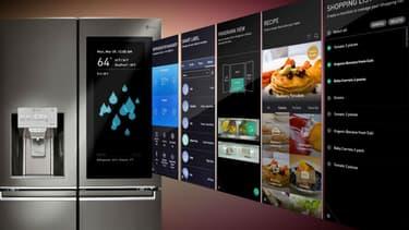 Le frigo connecté LG ThinQ