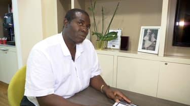 Paul Dolianki, le maire d'Apatou en Guyane.