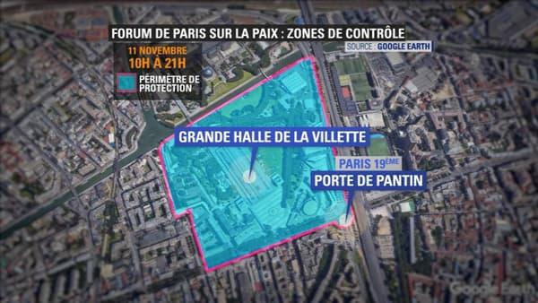 Des restrictions de circulation à prévoir autour de la Grande Halle de la Villette.