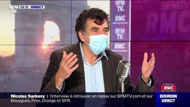 Arnaud Fontanet face à Jean-Jacques Bourdin en direct - 26/11