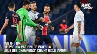 """PSG 0-1 OM : """"Paris n'a pas fini de payer la Ligue des champions"""" craint Riolo"""