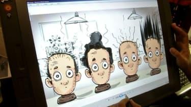 Impossible de montrer les cheveux des femmes, même pour vendre un shampoing qui leur est destiné. Il faut être très créatif...