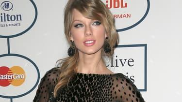 Taylor Swift en janvier 2014 à Beverly Hills